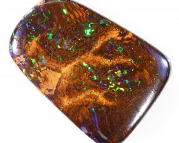 10.35CTS BOULDER MATRIX POLISHED STONE FLASHES OF ELECTRIC COLOUR - S750