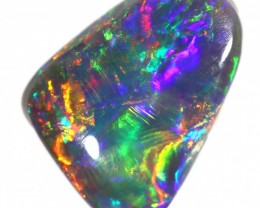 1.45 CTS BLACK OPAL STONE-LIGHTNING RIDGE- [LRO306]