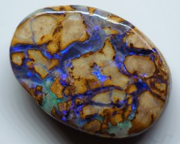 4.35CT VIEW  WOOD REPLACEMENT BOULDER OPAL OI845