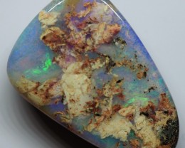 9.35CT VIEW  WOOD REPLACEMENT BOULDER OPAL OI855