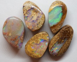 16.95CT VIEW  WOOD REPLACEMENT BOULDER OPAL OI889