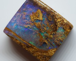 16.90CT VIEW  WOOD REPLACEMENT BOULDER OPAL OI897