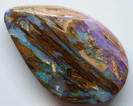 36.60CT VIEW  WOOD REPLACEMENT BOULDER OPAL OI917