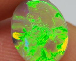 0.95CT  CRYSTAL OPAL FROM LIGHTNING RIDGE RE279