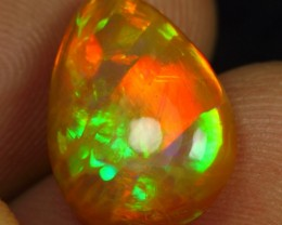 5.00cts Top 5/5 Straw & Broad Pattern Natural Ethiopian Welo Opal