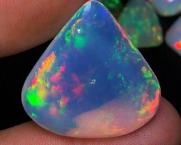 32.15 cts AAA Opal - Neon Flashes - Monster Sized Ethiopian Beauty!