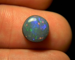 Beautiful dark based mintabie opal