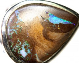 47.85- CTS KOROIT OPAL SILVER RING OF-2383