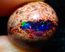 $1 NR Auction 8ct Mexican Matrix Cantera Multicoloured Fire Opal