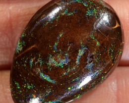 27.8ct 23.5x16.5mm Queensland Boulder Matrix Opal  [LOB-1996]