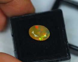 1.73Ct Natural Ethiopian Welo Faceted Opal Lot K234
