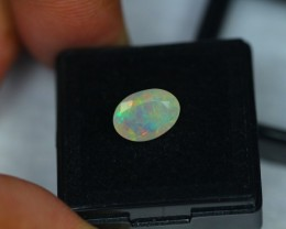 1.36Ct Natural Ethiopian Welo Faceted Opal Lot K237