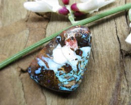 "13cts,""BOULDER MATRIX OPAL~UNBEATABLE VALUE!!!!!"""