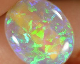 1.05CTS CRYSTAL OPAL -VERY BRIGHT LIGHTNING RIDGE GEM - ID:1198