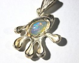 Pendant Silver 925 with Wello Opal Tot. Cts. 29.0   CV27
