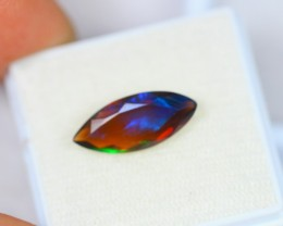 1.76Ct Natural Ethiopian Welo Black Smoked Opal Lot K252