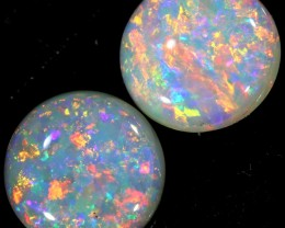 1.40 CTS CRYSTAL OPAL PAIR  [C306]