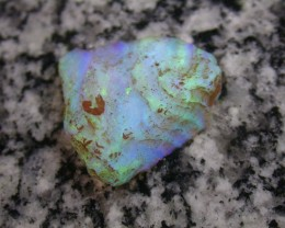 34.6ct HIGH QUALITY BRAZILIAN SCRYSTAL OPAL ROUGH CLEAN AND WITH NO CRACKS