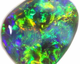 3.05 CTS BLACK OPAL RUBS LIGHTNING RIDGE [BR5707]