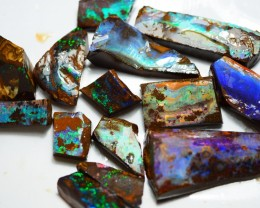 343CT VIEW ROUGH QUEENSLAND BOULDER OPAL PJ9
