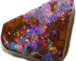 5.65 CTS BOULDER ROUGH OPAL RED FIRE [BY7552]