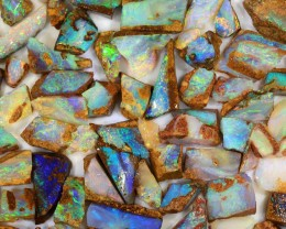 170ct Natural  Boulder Pipe Opal Rough Parcel [BRP-048]