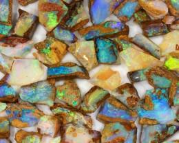 170ct Natural  Boulder Pipe Opal Rough Parcel [BRP-050]