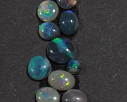 2.60 ct 10 gem Lightning Ridge Opal Parcel [20058]