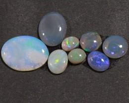 4.05 ct  Eight Stone Lightning Ridge Opal Parcel [20060]