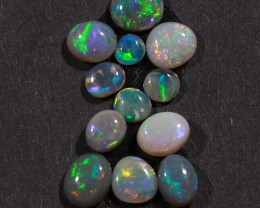 2.8 ct Twelve Stone Lightning Ridge OpalParcel [20063]