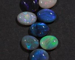 5.6 ct Eight Stone Lightning Ridge Opal Parcel [20065]