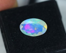 2.25Ct Natural Ethiopian Welo Faceted Opal Lot JA13