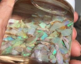 323 cts rough crystal opal