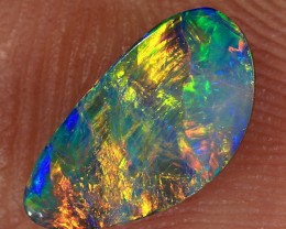 0.9ct 9.5x5.5mm Lightning Ridge Opal Doublet [PDO-186]