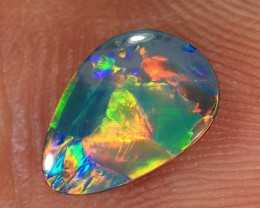 0.95ct 9x6mm Lightning Ridge Opal Doublet [PDO-187]