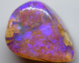6.70CT VIEW  WOOD REPLACEMENT BOULDER OPAL ZI37