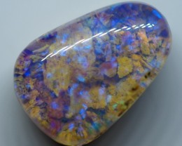 3.50CT VIEW  WOOD REPLACEMENT BOULDER OPAL ZI47