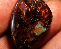 39.4ct Koroit Boulder Opal, Natural Australian Solid Opal, Real Opal