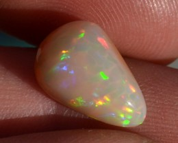 4.57 Carat Very Fine Pear Cut Caramel Opal