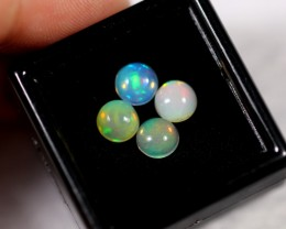 2.09cts 5.8mm Round Calibrate Ethiopian Welo Opal Lot