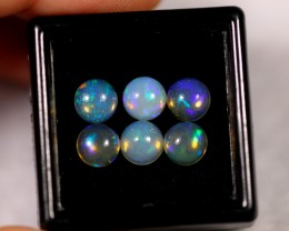 3.18cts 6.1mm Round Calibrate Ethiopian Welo Opal Lot