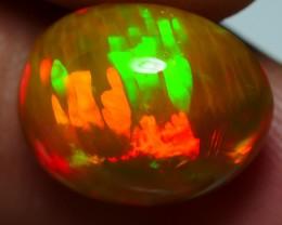 5.55 CRT STUNNING BROWN BASE 3D FIRE BLAZE NEON PATTERN WELO OPAL-