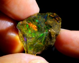 17ct Ethiopian Crystal Rough Specimen Rough