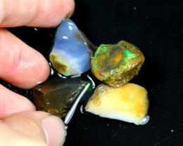 60cts Ethiopian Crystal Rough Specimen Lot Opal