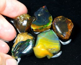69cts Ethiopian Crystal Rough Specimen Lot Opal