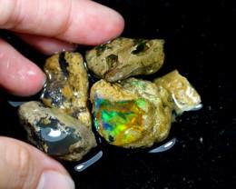 116cts Ethiopian Crystal Rough Specimen Lot Opal