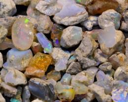 200ct Small Size Ethiopian Welo Rough Opal Parcel Lot