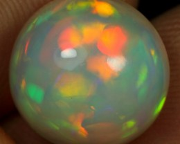 4.80cts 5/5 Broad Fire & Cell Pattern Ethiopian Opal