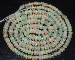 18.80 Ct Natural Ethiopian Welo Opal Beads Play Of Color