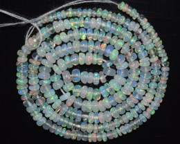 20.55 Ct Natural Ethiopian Welo Opal Beads Play Of Color